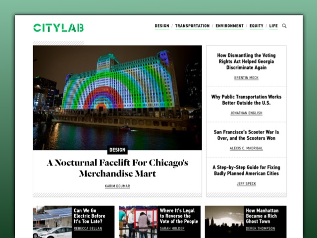 CityLab website screenshot
